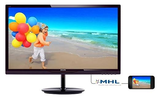 "Philips 284E5QHAD/00 Ecran PC LED 28"" (71,12 cm) 1920x1080 6,5 ms MHL-HDMI/VGA"