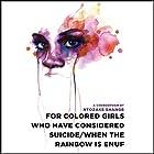 for colored girls who have considered suicide - when the rainbow is enuf Hörbuch von Ntozake Shange Gesprochen von: Thandie Newton