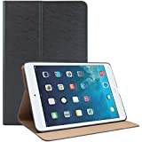 DMG Ultra Thin PU Leather Stand View Smart Case For Apple IPad Mini 2 Mini 3 (Navy Blue)
