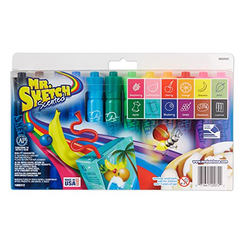Sanford Mr. Sketch Washable Watercolor Markers,