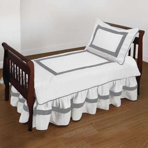 Baby Doll Bedding Classic Ii Toddler Bedding Set White Furniture Furniture Furniture Sets