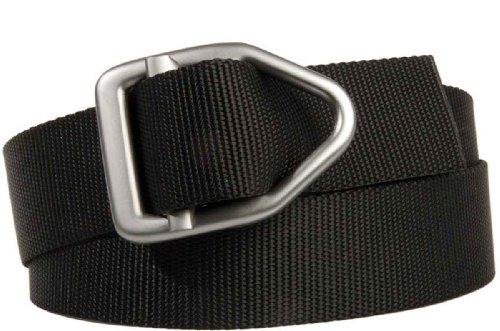 Bison Designs 38Mm Wide Light Duty Last Chance Belt With Gunmetal Buckle (Black, 46-Inch Maximum Waist/X-Large)