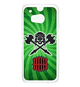 a AND b Designer Printed Mobile Back Cover / Back Case For HTC One M8 (HTC_M8_114)