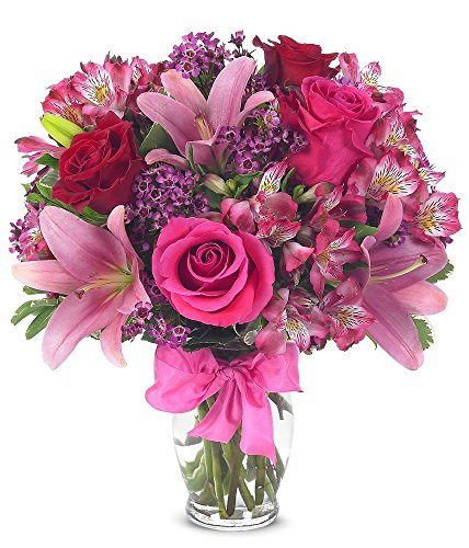 from-you-flowers-rose-lily-celebration-free-vase-included-measures-14h-by-12l