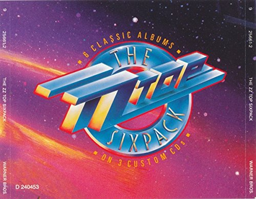 The ZZ Top Six Pack by ZZ Top (1990-10-25)