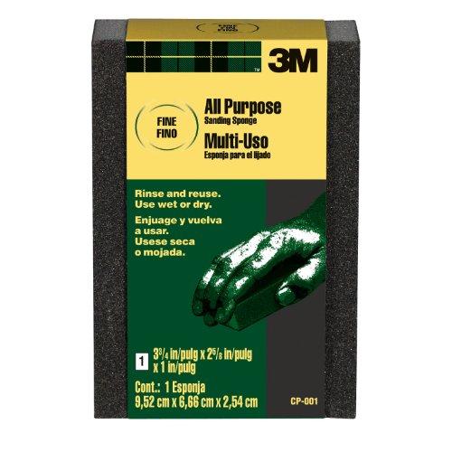3M Sanding Sponge, Fine Grit