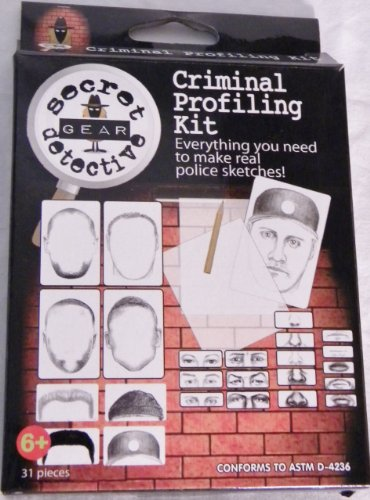Criminal Profiling Kit (Secret Detective) - 1