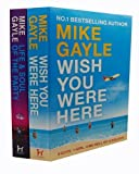 Mike Gayle Mike Gayle 2 Books Collection Set RRP £14.98 (Wish You Were Here, The Life and Soul of the Party)