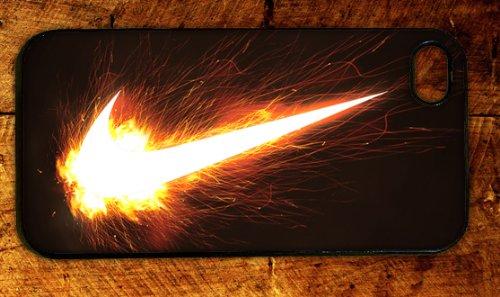 Custom International Brand Nike Flame Fire Logo