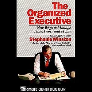 The Organized Executive Audiobook