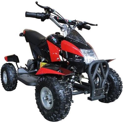 350 Watt Gobi Electric Ride On Mini Quad Sport Atv For Kids, Red