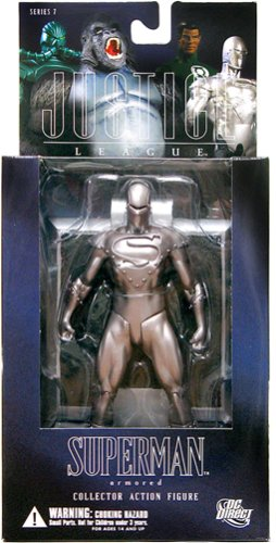 Picture of DC Direct Alex Ross Justice League 7: Superman Action Figure (B000RENT4I) (Superman Action Figures)