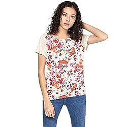 Grain Women's Floral Print Poly Cotton Top