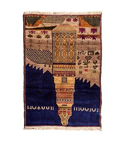 RugSense Alfombra Belucistan Azul/Multicolor
