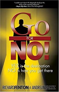 "Cover of ""Go for No!"""