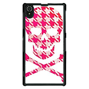 Jugaaduu Skull pattern Back Cover Case For Sony Xperia Z2