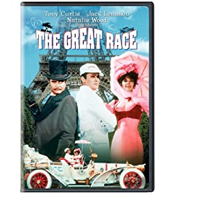 The Great Race starring Tony Curtis.