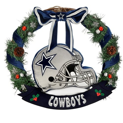 NFL Dallas Cowboys 20-Inch Helmet Door Wreath at Amazon.com