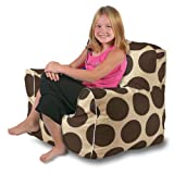 Sol Kids Indoor/Outdoor Anywhere Chair - Brown/Cream
