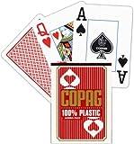 51IzlFT2OXL. SL160  COPAG JUMBO FACE 100% Plastic Poker   Farbe: blau   ohne Abb. (pro Stück)