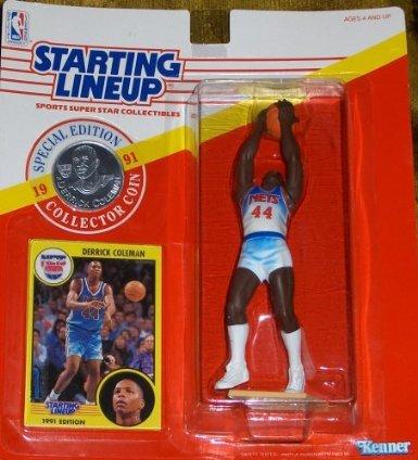 Derrick Coleman 1991 Starting Lineup [Toy] - 1