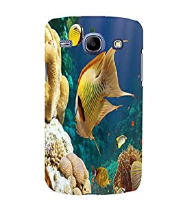 printtech Fish Coral Seawater Back Case Cover for Samsung Galaxy J1 (2016 EDITION )/ J120F (Global); Galaxy Express 3 J120A (AT&T); J120H, J120M, J120M, J120T Also known as Samsung Galaxy J1 (2016) Duos with dual-SIM card slots
