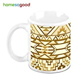 HomeSoGood Perpendicular Structures Coffee Mug