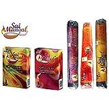 Sai Mangal Agarbatti/Incense Sticks Pooja Special Series With Dhoop Sticks- Pooja Special, Chandan & Parasmani...