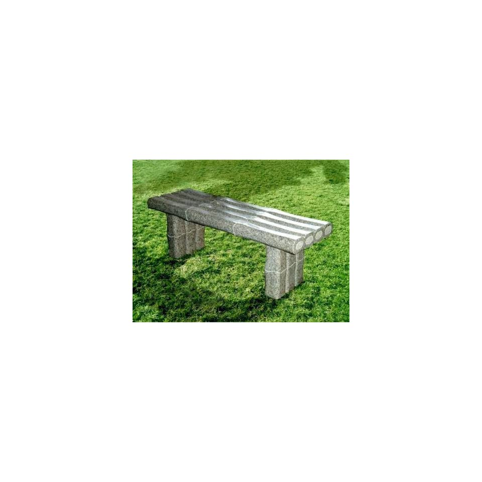 National Tree Company FQB 800 47 47 Inch Granite Bamboo Bench