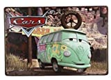 Yours Dec Metal Tin Sign Colorful Volkswagen Combi, Metal Tin Sign, Wall Decorative Sign 8inch