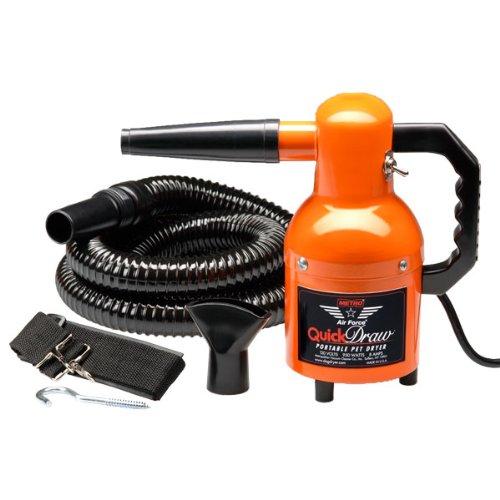 Metro Air Force Steel Quick Draw Dog Dryer, 1.3 HP (Color: Orange)