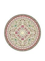 Ambiance Sticker Alfombra De Vinilo Round Carpet Round Geometric Pattern