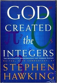 God created the integers hawking