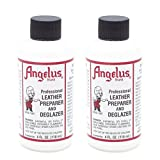 Angelus Leather Preparer & Deglazer 4 Oz. (Pack of 2) (Tamaño: 5 Oz (Pack of 2))
