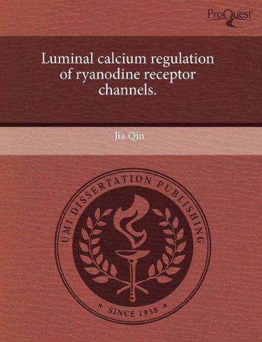 Luminal Calcium Regulation Of Ryanodine Receptor Channels.