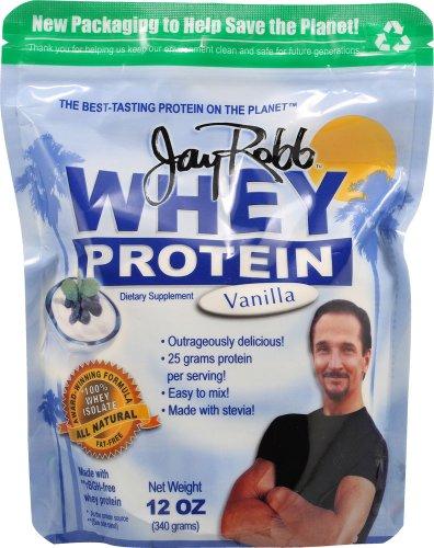 Jay Robb Whey Protein Powder Vanilla -- 12 Oz