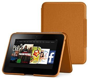 Amazon Kindle Fire HD 7 Lederhülle [aufstellbar], Hellbraun (nur geeignet für Kindle Fire HD 7 [Vorgängermodell])