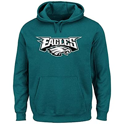 Philadelphia Eagles Majestic NFL Critical Victory Hooded Sweatshirt - Green