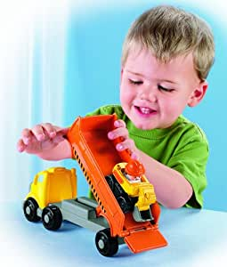 Not simple, fisher price construction toys Prompt