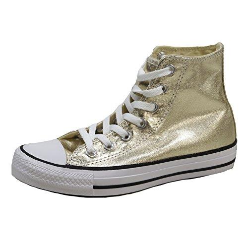 Converse Mandrini oro 153178C stagionali Metallics Light Gold Bianco Nero, Converse Schuhe Unisex Sizegroup 10:39
