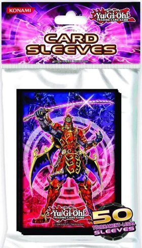 Konami Official Yugioh Legendary Six Samurai 50 count Tournament Legal Sleeves