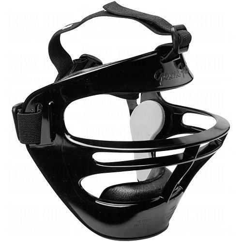 Markwort Game Face Sports Safety Mask Medium Black