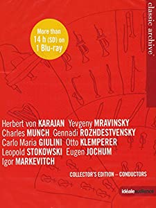 Classic Archive: Conductors [Herbert von Karajan, Yevgeny Mravinsky] [Blu-ray] [2014]
