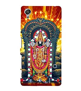 Lord Balaji 3D Hard Polycarbonate Designer Back Case Cover for Sony Xperia X :: Sony Xperia X Dual