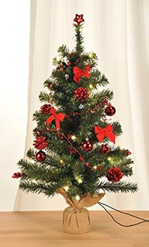Gravidus-Knstlicher-Weihnachtsbaum-geschmckt-mit-20er-LED-Lichterkette-rot