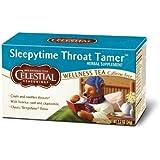 Sleepytime Throat Tamer Wellness Tea by Celestial Seasonings - 1 Box