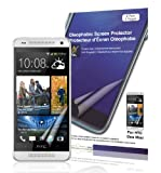 Green Onions Supply Crystal Oleophobic Screen Protector for HTC One Mini Smartphone (Pack of 2)