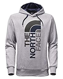 The North Face Men\'s Trivert Pullover Hoodie TNF Light Grey Heather/Cosmic Blue Multi XX-Large