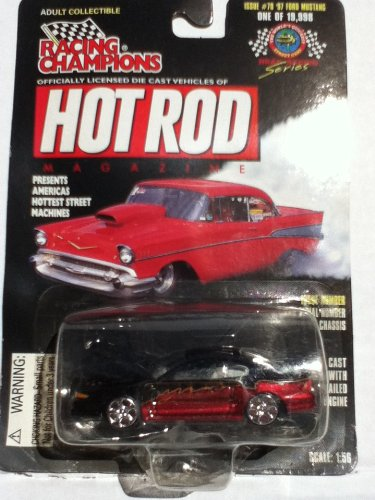 Racing Champions Hot Rod Magazine Issue #78 '97 Ford Mustang