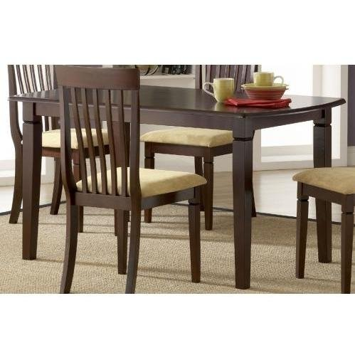 Buy Low Price Hillsdale Hillsdale Verona Rectangle Dining Table, Cappuccino (4138-814M)